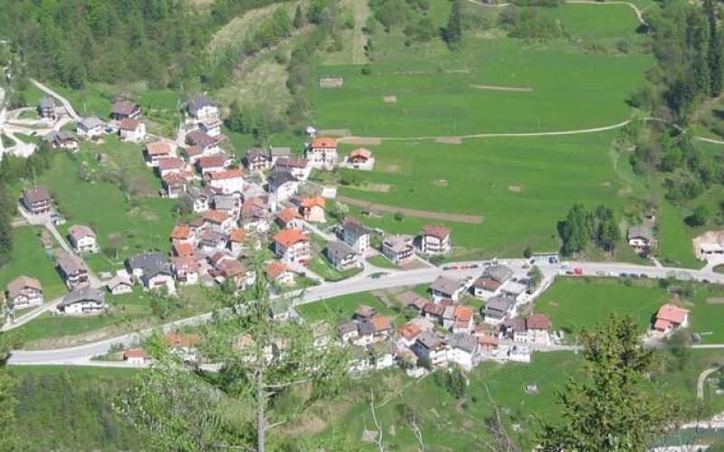 La caduta massi nell'Agordino: il crollo di Listolade